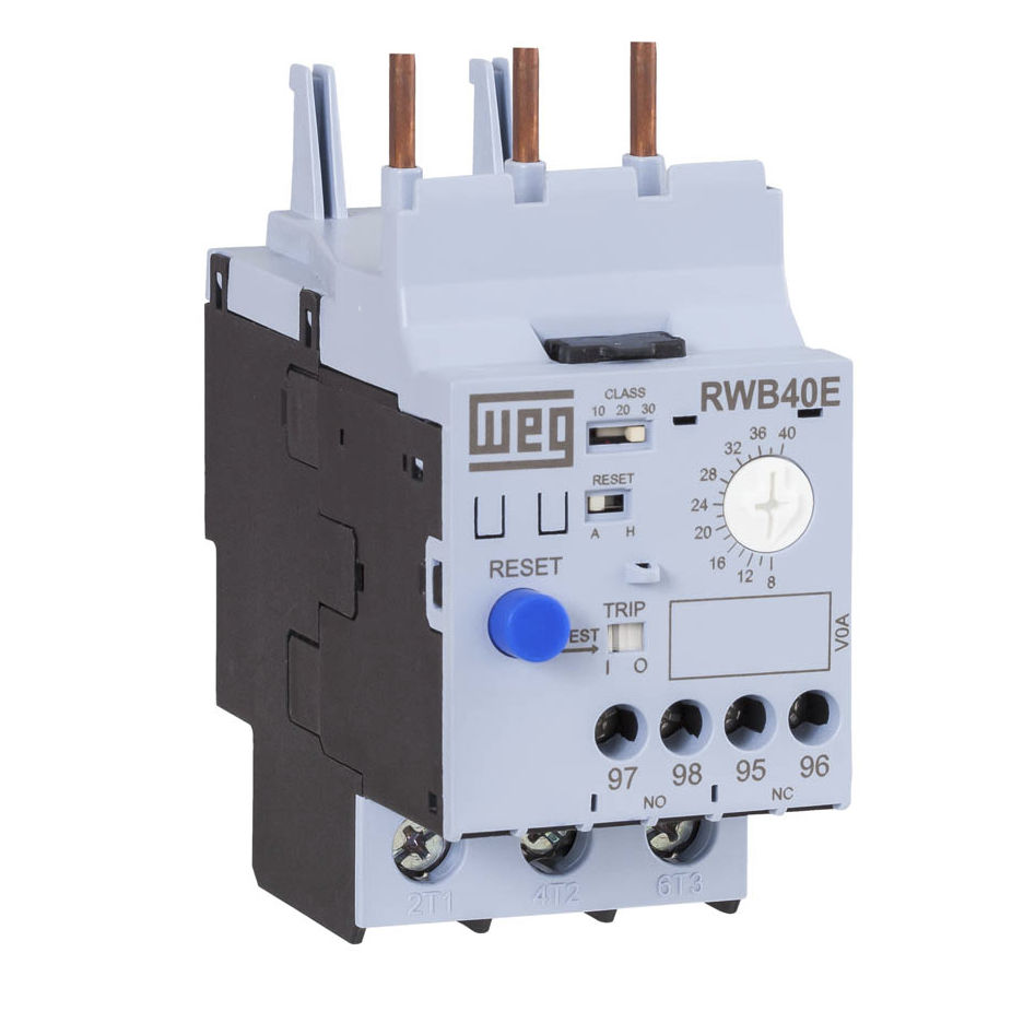 Thermal Protection Relay 1 No Nc Automatic Reset Three Phase Circuit Breaker With Rw E Series