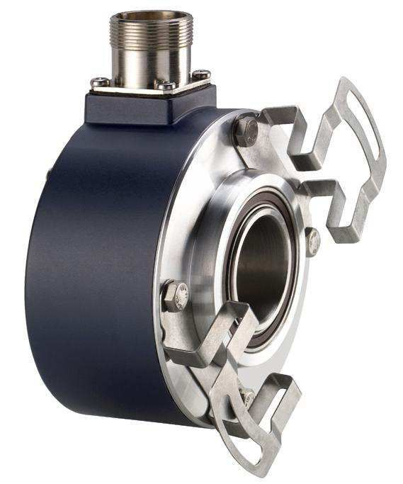 Absolute rotary encoder / hollow-shaft / multi-turn - PHU9 - AK