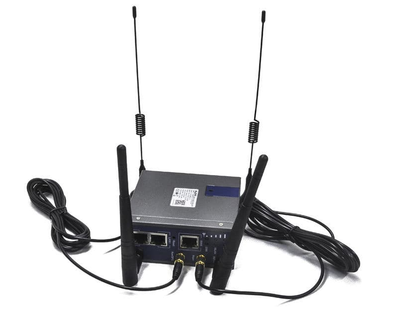4G communication router / OpenWrt / dual SIM - WL-R220 4G