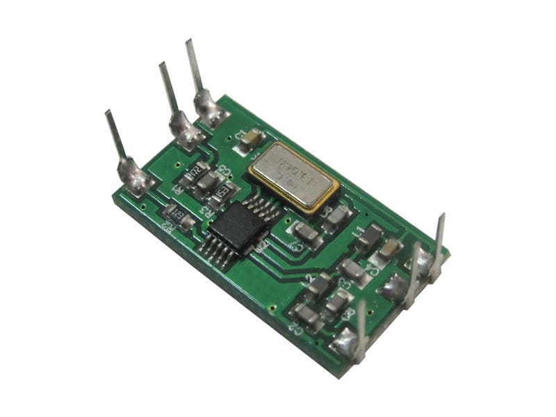 FSK integrated circuit radio transmitter / ISM band