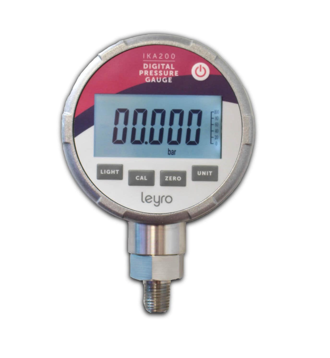 Digital pressure gauge / electronic / calibration - IKA 200 - Leyro