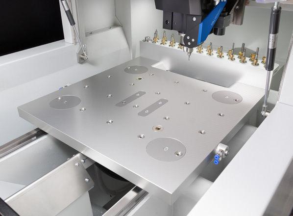 3-axis CNC milling machine / vertical / gantry / high-speed - DATRON