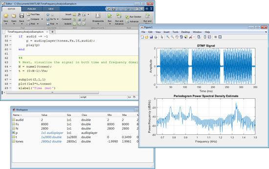 Data analysis software / test / creation / measurement - MATLAB
