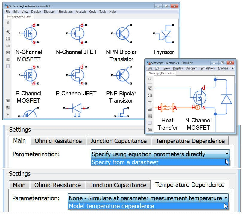 Modeling software / simulation / for mechatronic systems