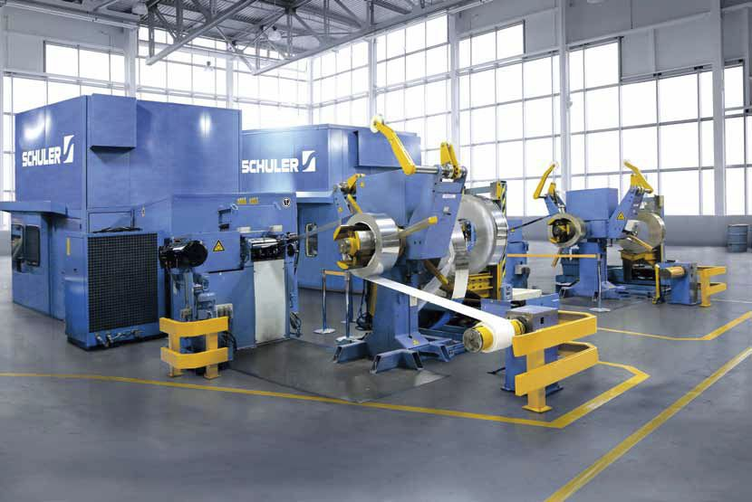 High-speed blanking press / for steel / for aluminum / for