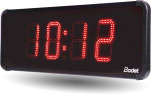 Digital clock / LED / indoor / for outdoor use - HMT LED 15 - Bodet