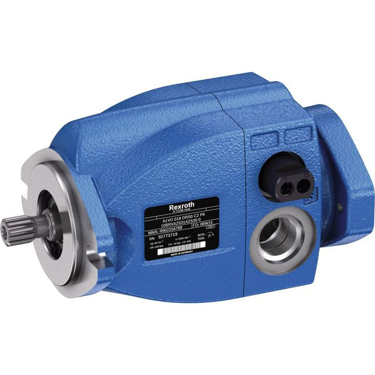 Hydraulic axial piston pump / high-efficiency / suction / with integrated  controller A1VO/10 series Bosch Rexroth - Mobile Hydraulics