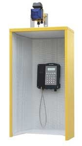 Telephone booth / for noisy environments - FHF Funke Huster