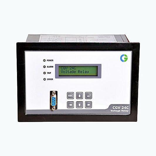 Under-voltage protection relay / over-voltage / digital