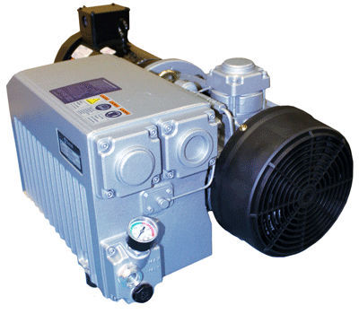 Rotary vane vacuum pump / lubricated / single-stage / direct