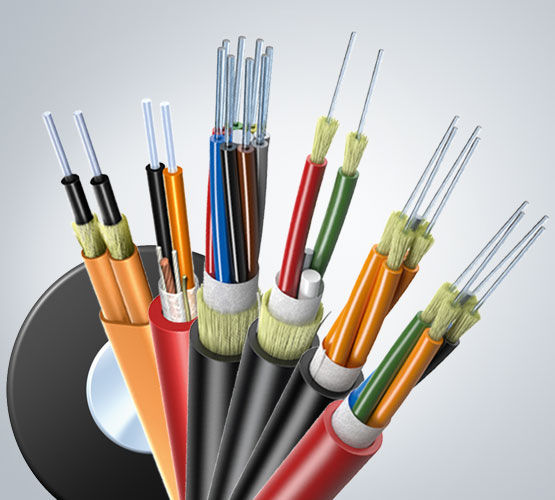 Optical data cable / insulated / tight structure / break-out - AT-V