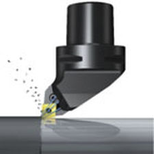 Left Hand Sandvik Coromant PCLNL 3232P 16HP High Pressure Coolant Turning Insert Holder Steel CNMG 543 Insert Size External Lever Lock 170mm Length x 40mm Width 32mm Width x 32mm Height Shank Square Shank
