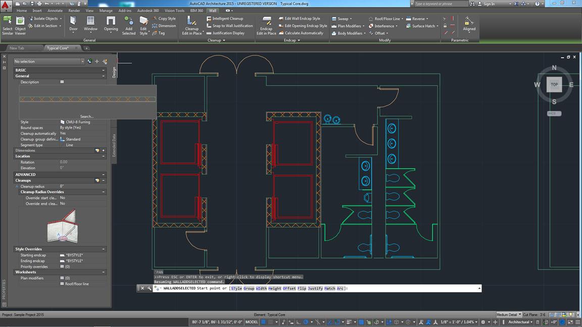 Design software / for building / architecture / AutoCAD