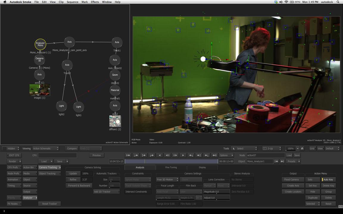Video editing software - Smoke® - AUTODESK