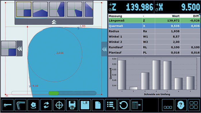 Image-processing software / for CNC machines / measuring