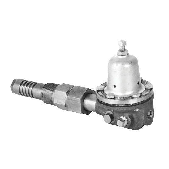 Gas pressure regulator / for air / propane / single-stage