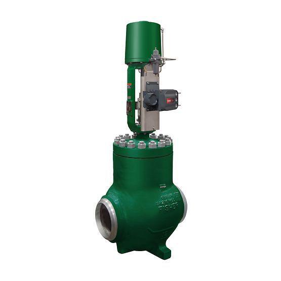 Pneumatic valve actuator / linear / double-acting / piston - 585C