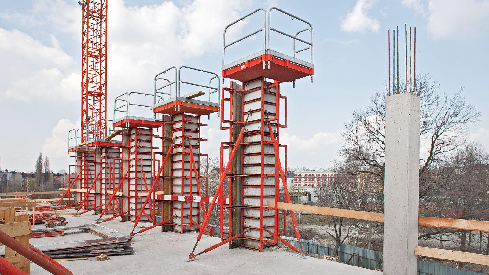 Column formwork - QUATTRO - PERI