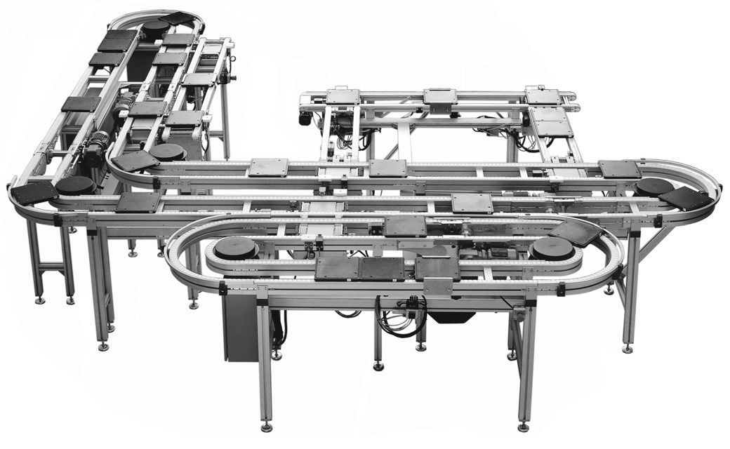Chain conveyor / for the automotive industry / parts