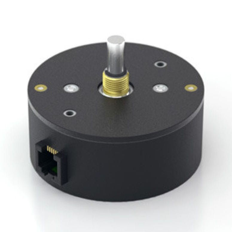 Absolute rotary encoder / optical / with analog output / solid-shaft