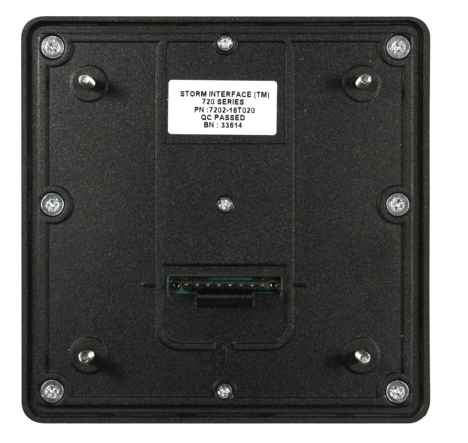 16-key keypad / panel-mount / ultra-rugged / USB - 720 BLK SERIES
