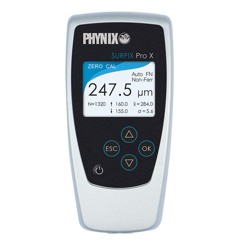 Coating thickness gauge / digital display / Bluetooth / with