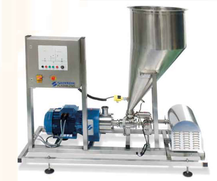 Dynamic mixer / batch / powder / laboratory - SILVERSON
