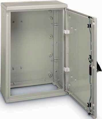 Rectangular enclosure / polyester / for general purpose - IP43
