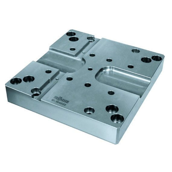 Modular clamping plate / square - DUO-Tower - RÖHM