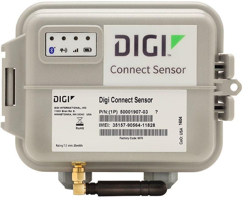 Communication gateway / industrial / Modbus / cellular Connect® Sensor+  Digi International