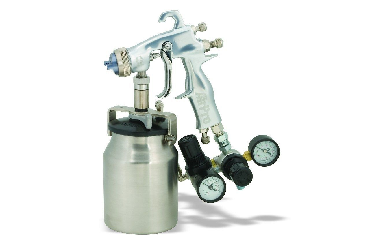 Spray gun / for paint / for solvents / glue - Airpro - GRACO - Videos