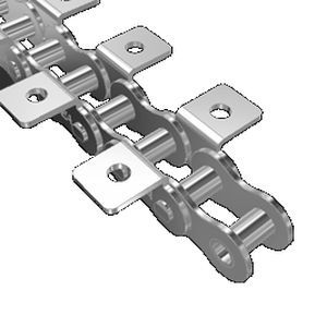 Transmission chain / metal / roller / attachment - K1/02
