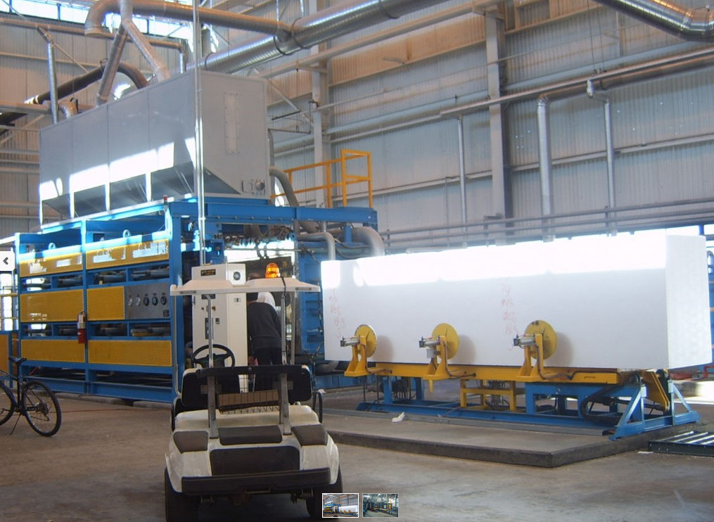 Particle foam molding machine / for EPS / for EPP - KINDUS