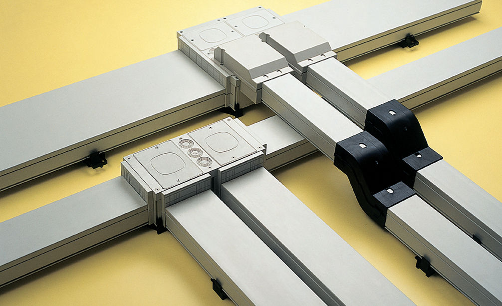 Cabling Trunking 2 M Sotto Series Canalplast Pvc Underfloor Self Extinguishing