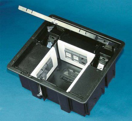Floor Mounted Electrical Socket 227 X 120 Mm Hypogeo Series