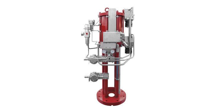 Pneumatic valve actuator / linear / piston / double-acting - SC/V