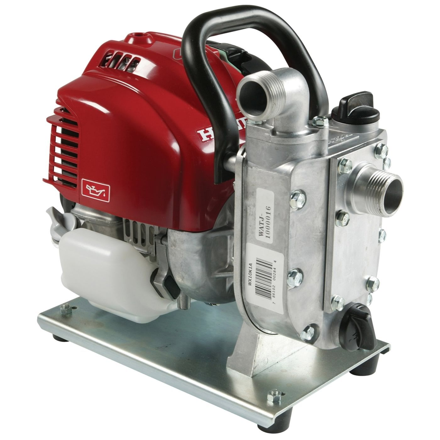 Water pump / with combustion engine / self-priming / centrifugal
