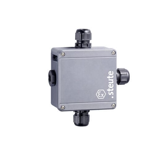 Wall-mounted junction box / explosion-proof / increased