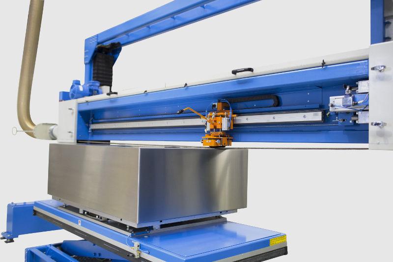 Horizontal disc grinding machine - PBM - Kuhlmeyer Maschinenbau GmbH  Band-Schleifmaschinen Belt Grinding Machines - for metal sheets /  PLC-controlled / vertical