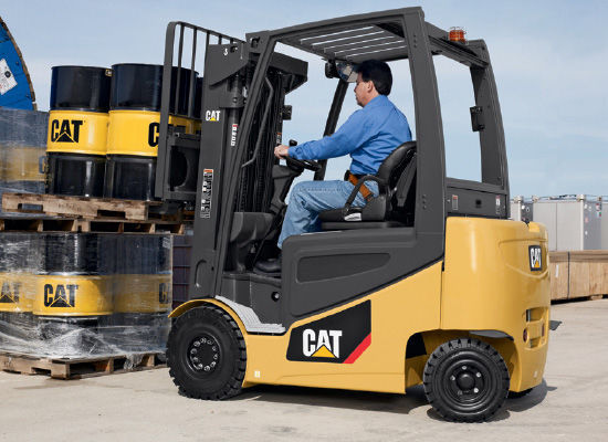 Counterbalanced forklift / electric / ride-on / handling