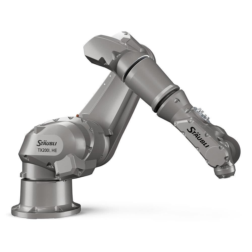 Articulated robot / 6-axis / cutting / loading TX200, TX200L HE Stäubli  Robotics