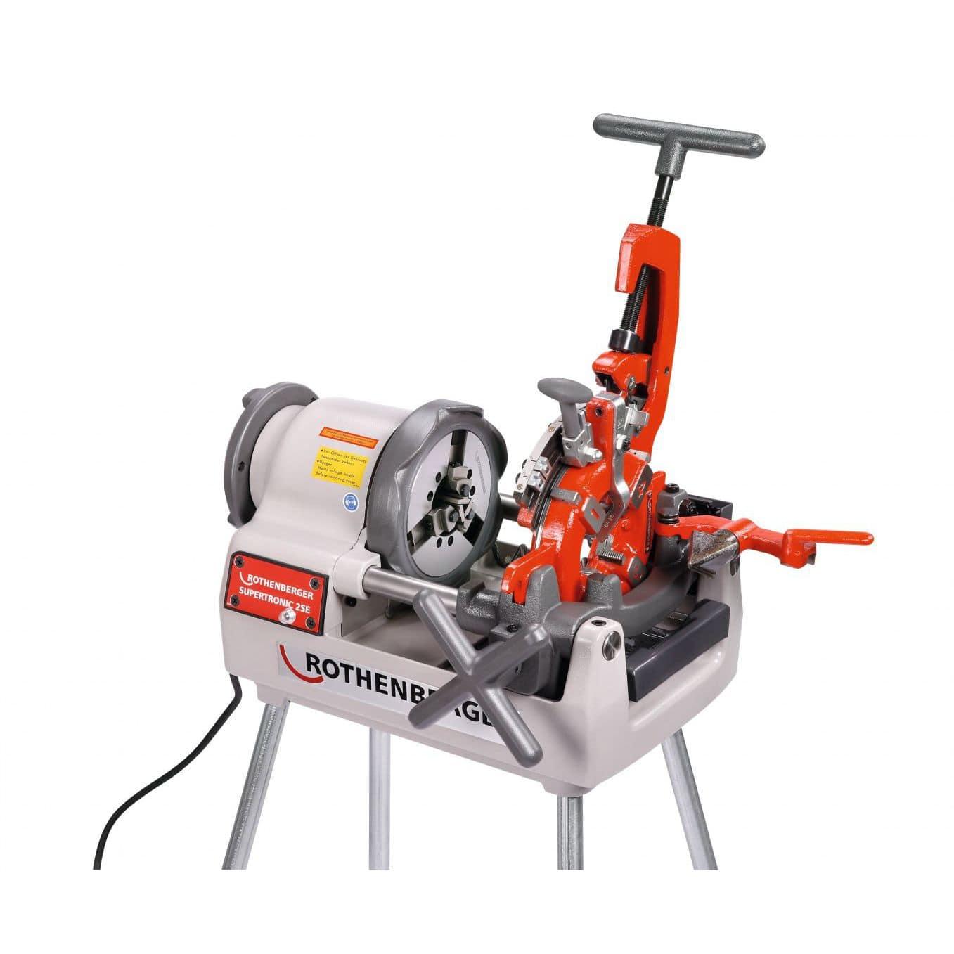 Pipe threading machine - SUPERTRONIC® 2 SE / 3 SE / 4 SE ...