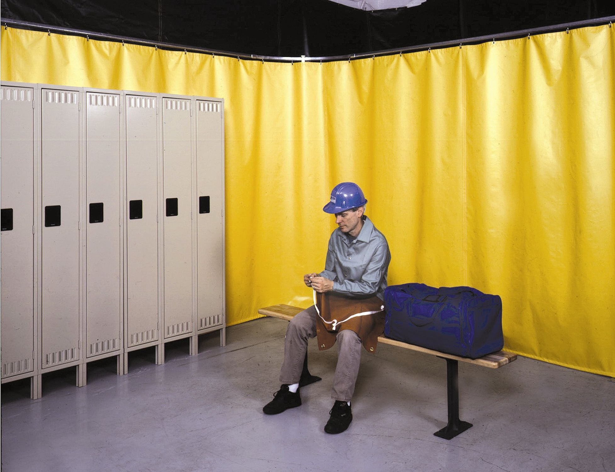 Workshop partition / office - Privacy Series - Singer Safety
