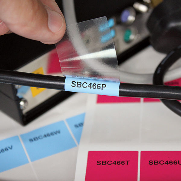graphic regarding Printable Wire Labels called Id label / thermal shift / printable