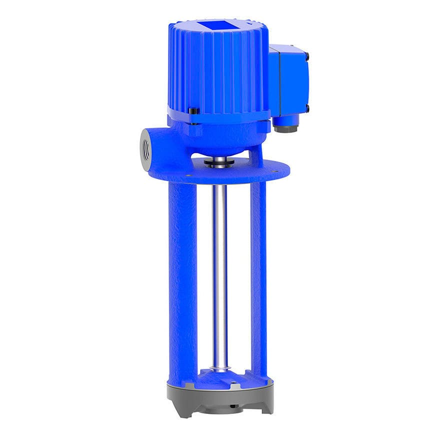 Coolant pump / for lubricants / electric / semi-submersible