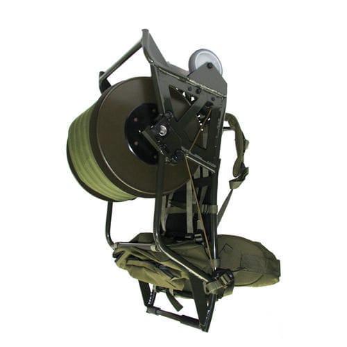 Cable reel / hand crank / mobile / backpack - Brugg Kabel AG