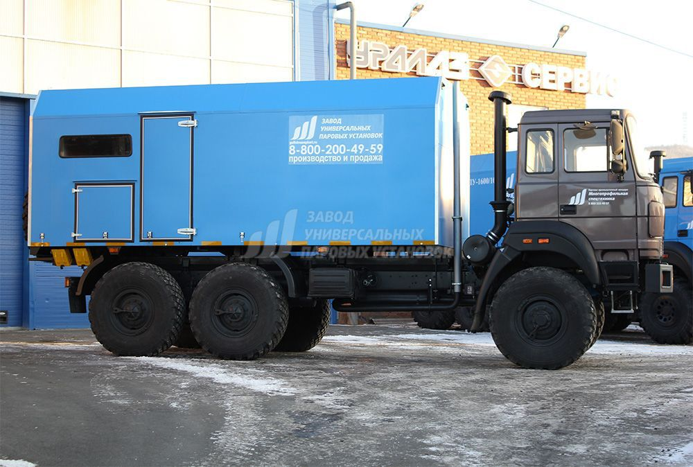 Fuel oil steam generator / mobile / truck-mounted - PPUA