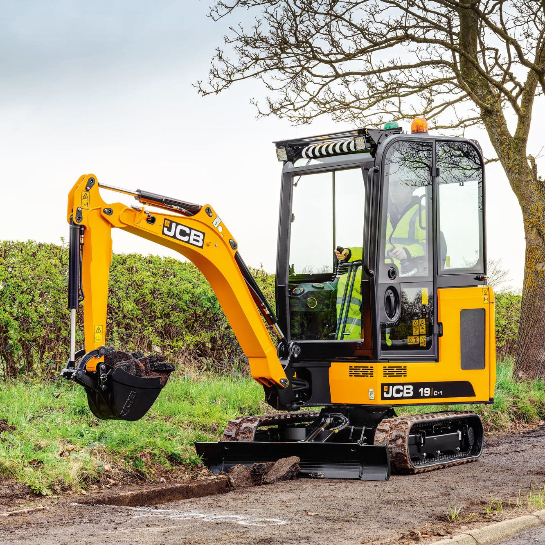 Mini excavator / crawler / diesel / construction - 19C-1 - JCB