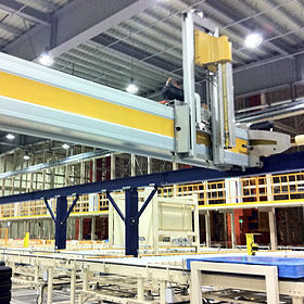 Gantry robot / 3-axis / palletizing / for the food industry