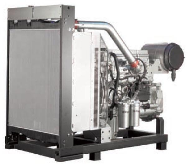 Diesel engine / 6-cylinder / turbocharged / for generator sets